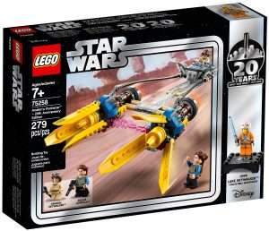 anakins podracer 20 jahre lego 75258 star wars