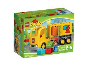 duplo 10601 lastwagen mit anhanger