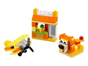lego 10709 kreativ box orange