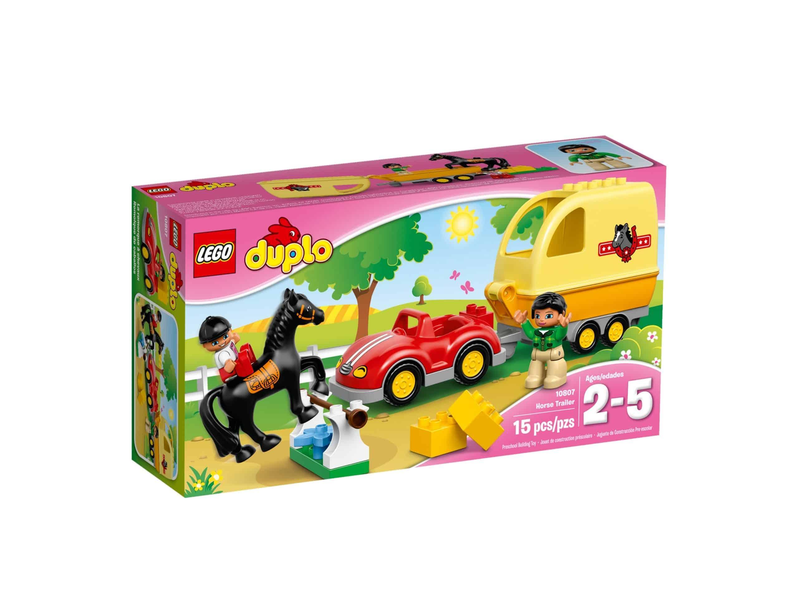 lego 10807 wagen mit pferdeanhanger scaled