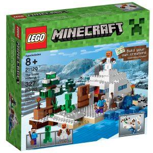 lego 21120 das versteck im schnee