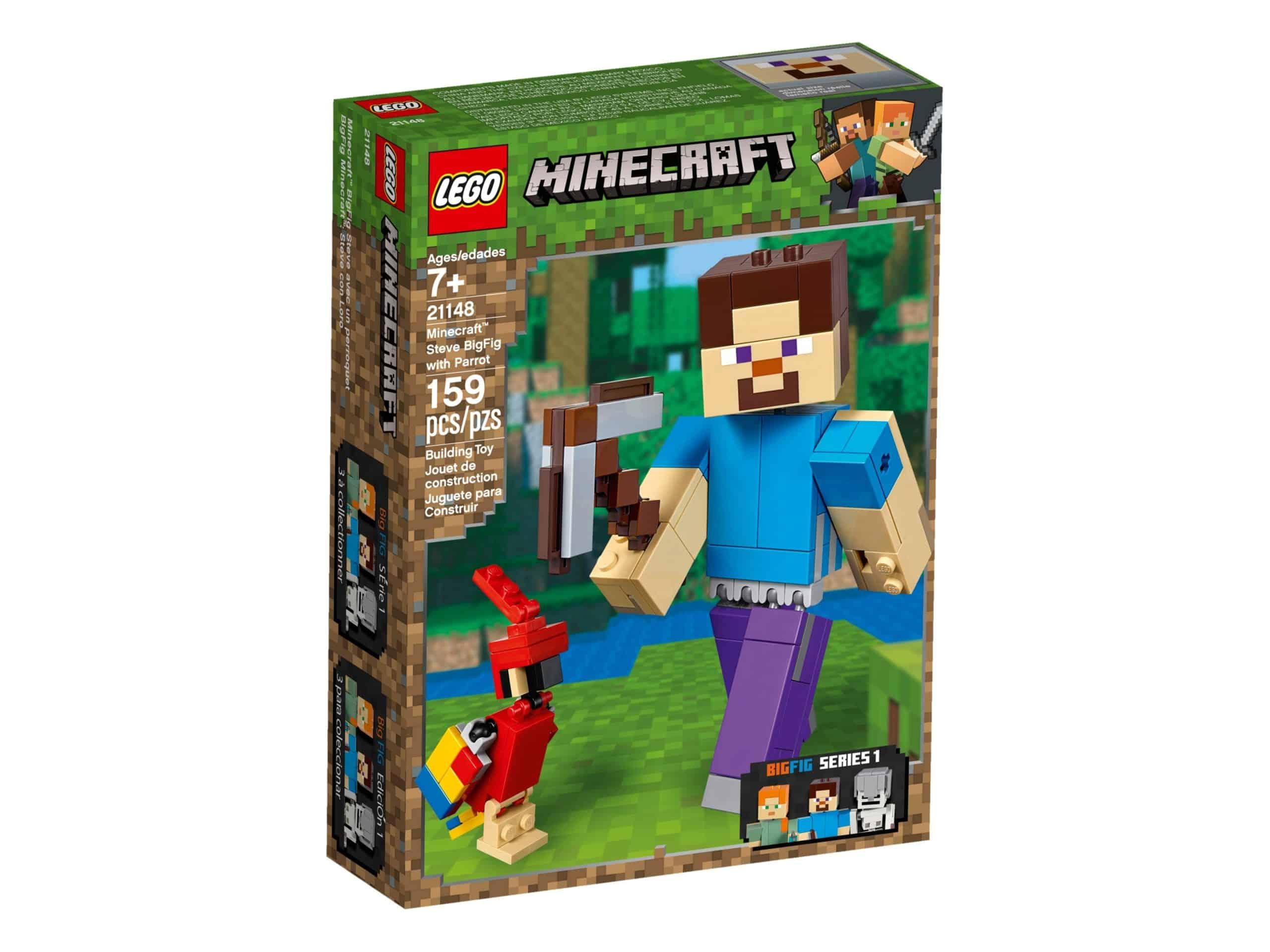 lego 21148 bigfig steve mit papagei scaled