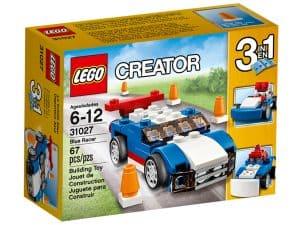 lego 31027 blauer rennwagen