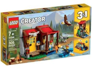 lego 31098 outback hutte