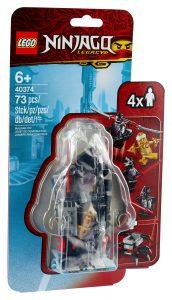 lego 40374 goldener zane minifiguren zubehorset