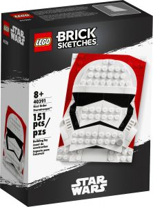 lego 40391 brick sketches stormtrooper