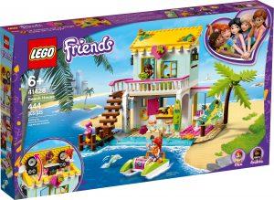 lego 41428 strandhaus mit tretboot