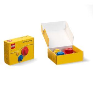 lego 5005906 wandhaken set in rot blau und gelb