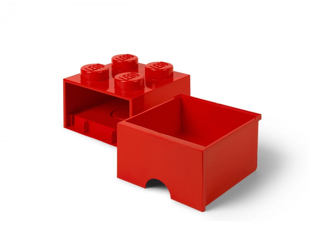 lego 5006129 aufbewahrungsstein mit schubfach und 4 noppen in rot scaled
