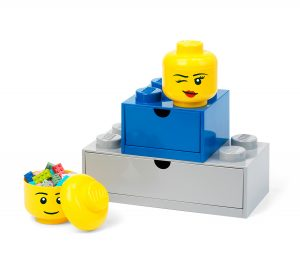 lego 5006211 zwinkerkopf mini aufbewahrungsbox