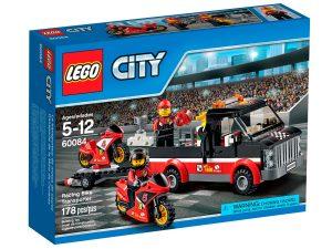 lego 60084 rennmotorrad transporter