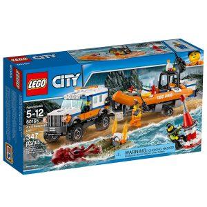 lego 60165 gelandewagen mit rettungsboot