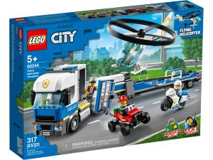 lego 60244 polizeihubschrauber transport
