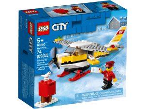 lego 60250 post flugzeug