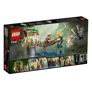 lego 70608 meister wus wasser fall