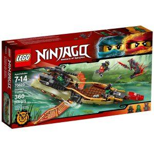 lego 70623 schatten des ninja flugseglers