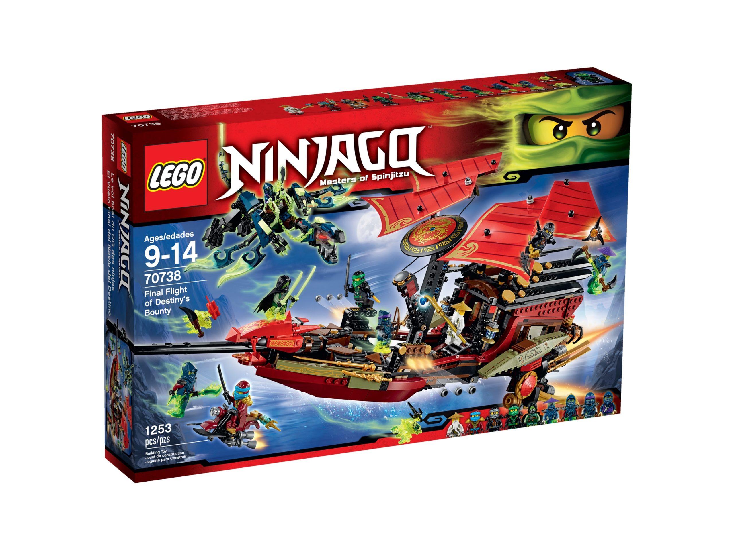 lego 70738 der letzte flug des ninja flugseglers scaled