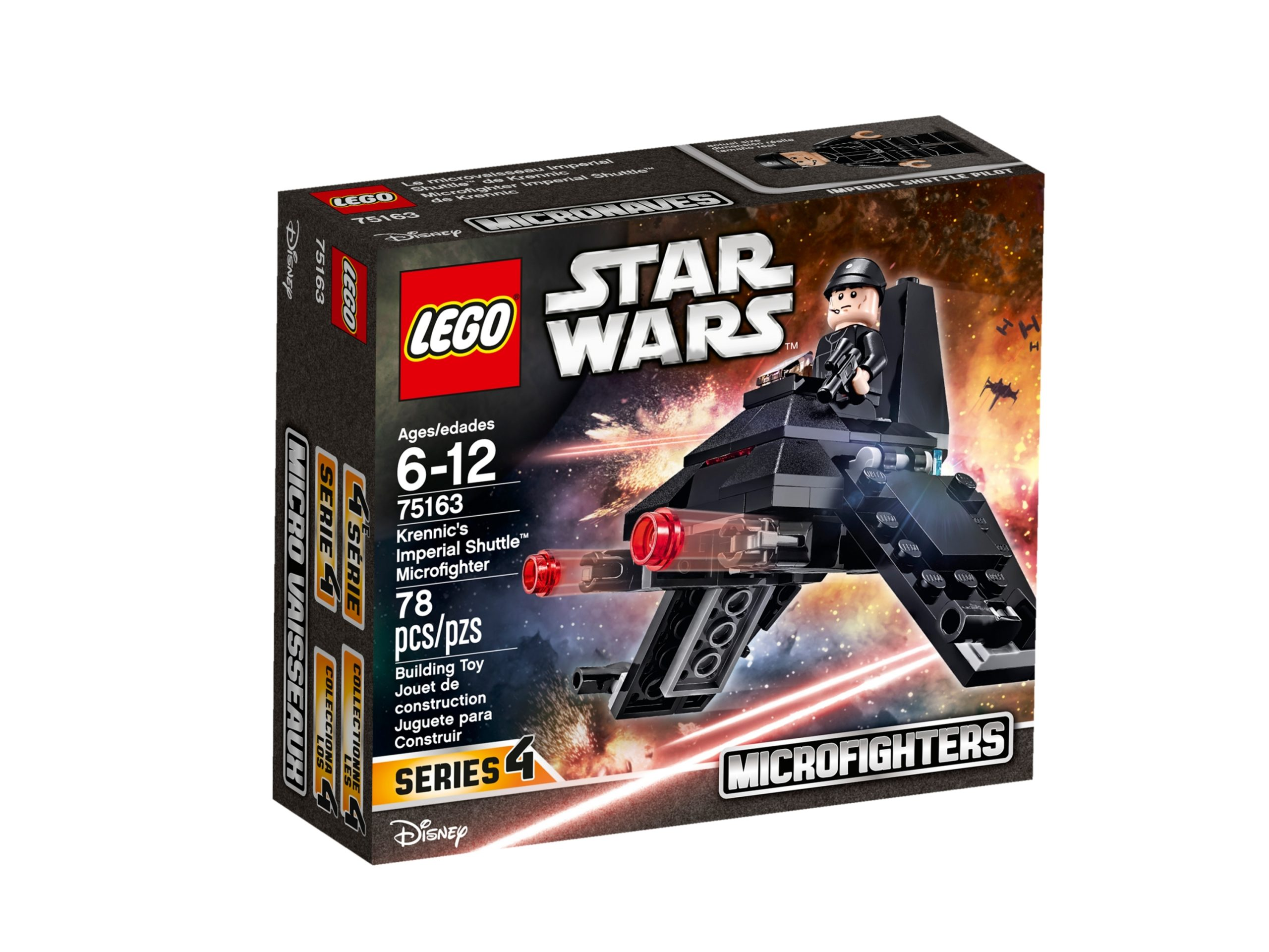 lego 75163 krennics imperial shuttle microfighter scaled