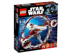 lego 75191 jedi starfighter with hyperdrive