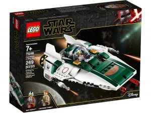 lego 75248 widerstands a wing starfighter