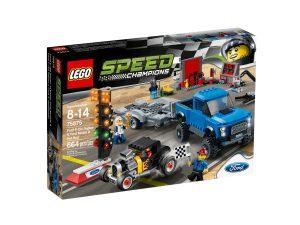 lego 75875 ford f 150 raptor ford model a hot rod