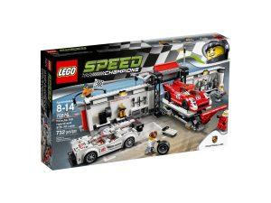 lego 75876 porsche 919 hybrid and 917k pit lane