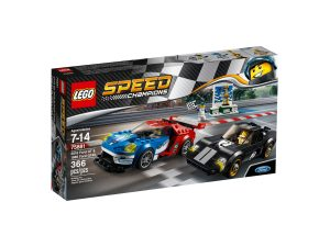 lego 75881 2016 ford gt 1966 ford gt40