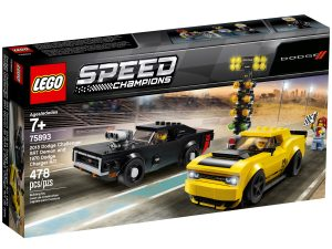 lego 75893 2018 dodge challenger srt demon und 1970 dodge charger r t