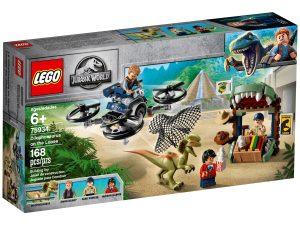 lego 75934 dilophosaurus auf der flucht