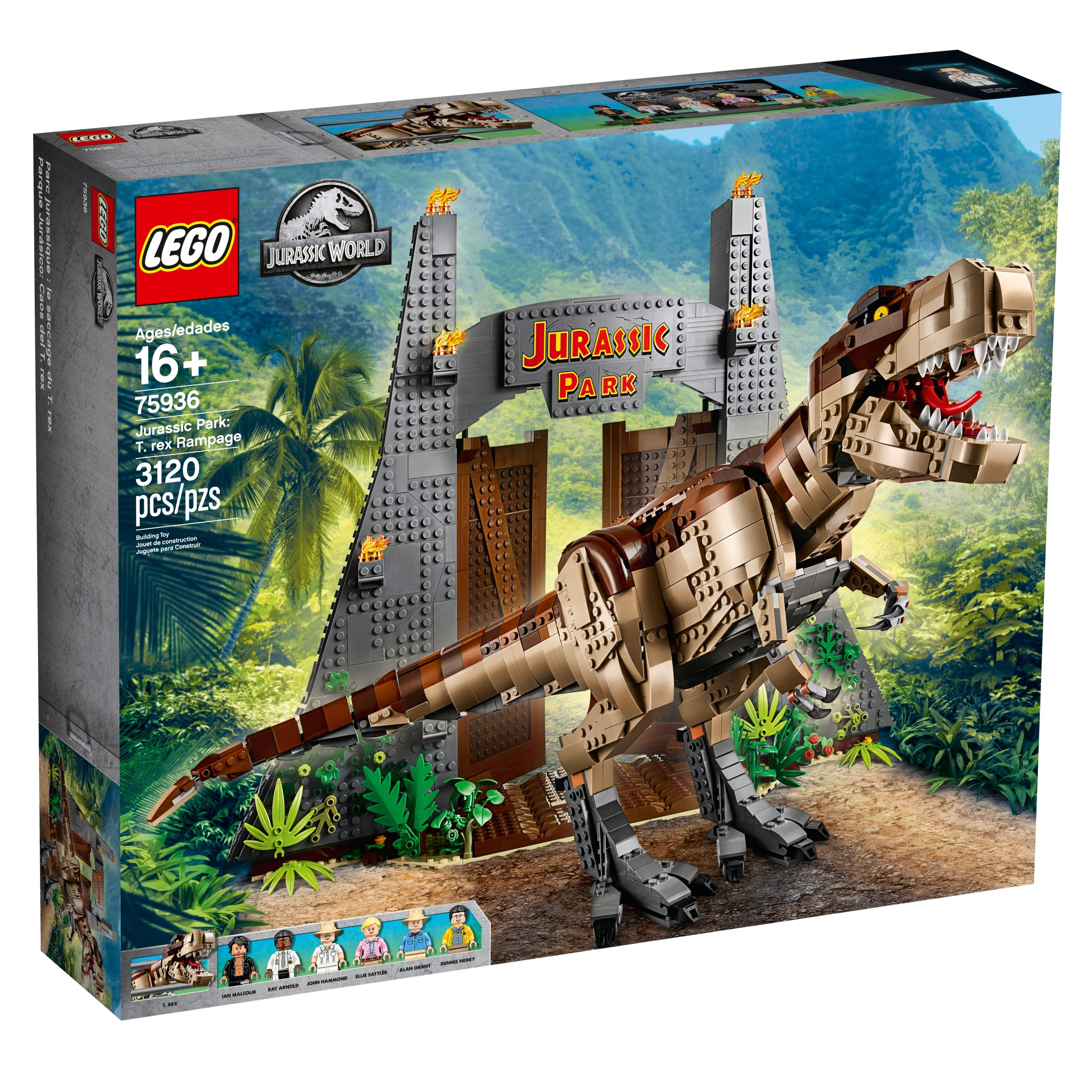 lego 75936 jurassic park t rex verwustung scaled