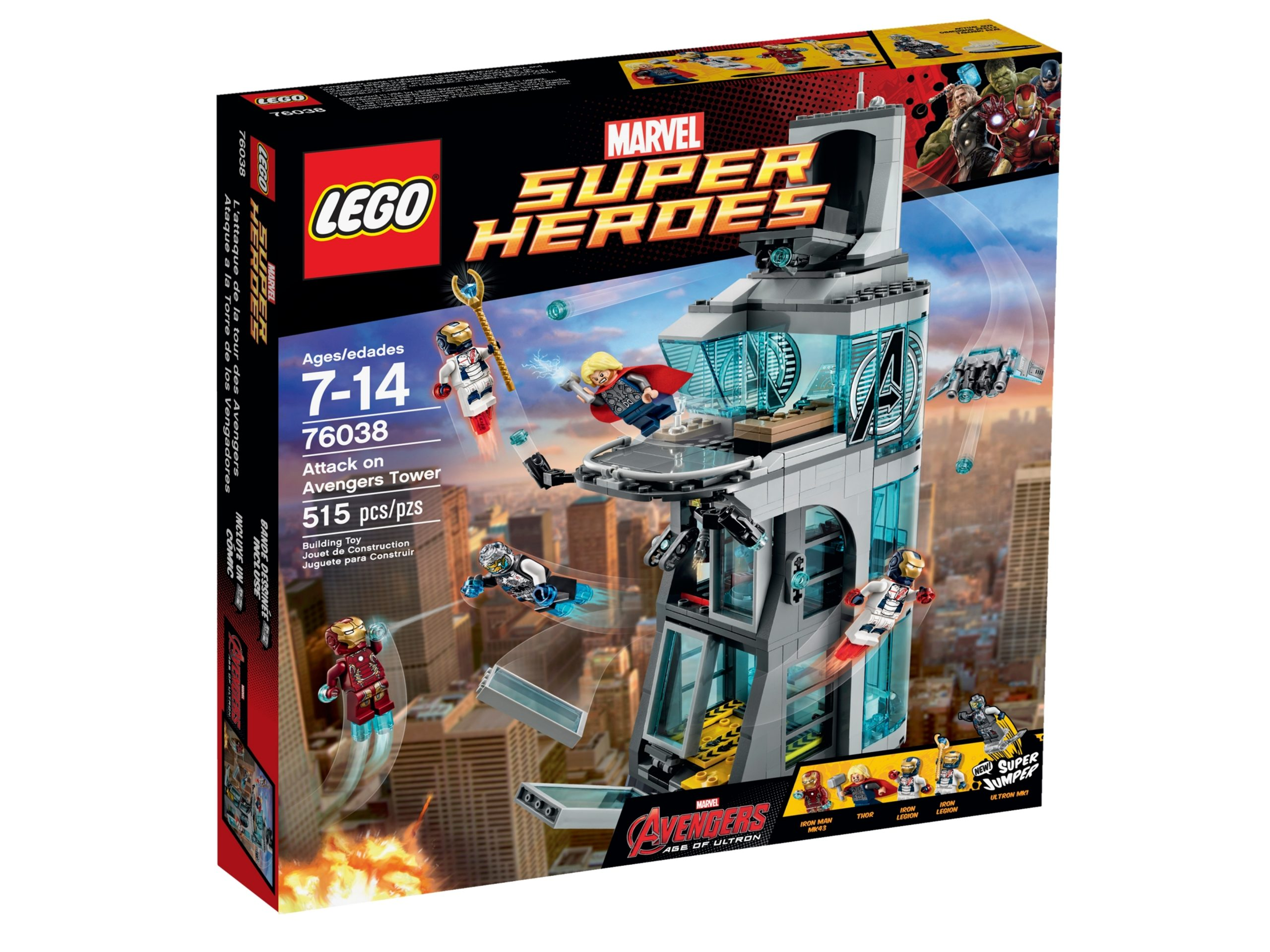lego 76038 uberfall auf den avengers tower scaled