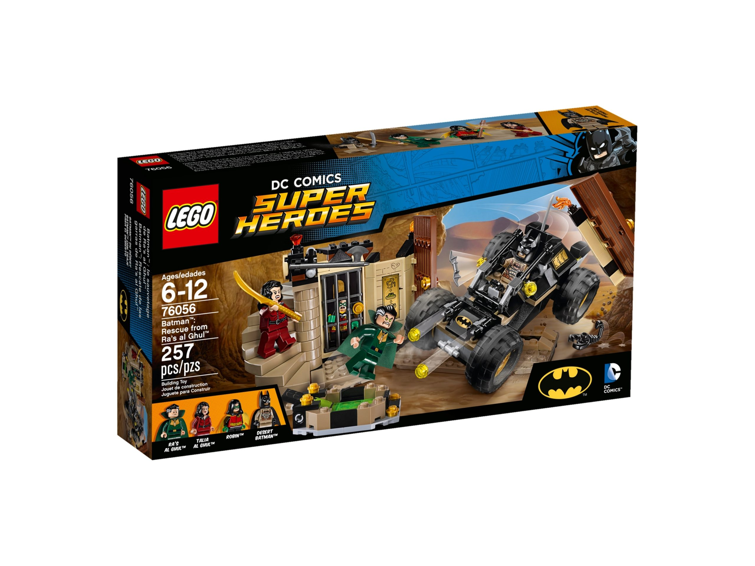 lego 76056 batman ras al ghuls rache scaled