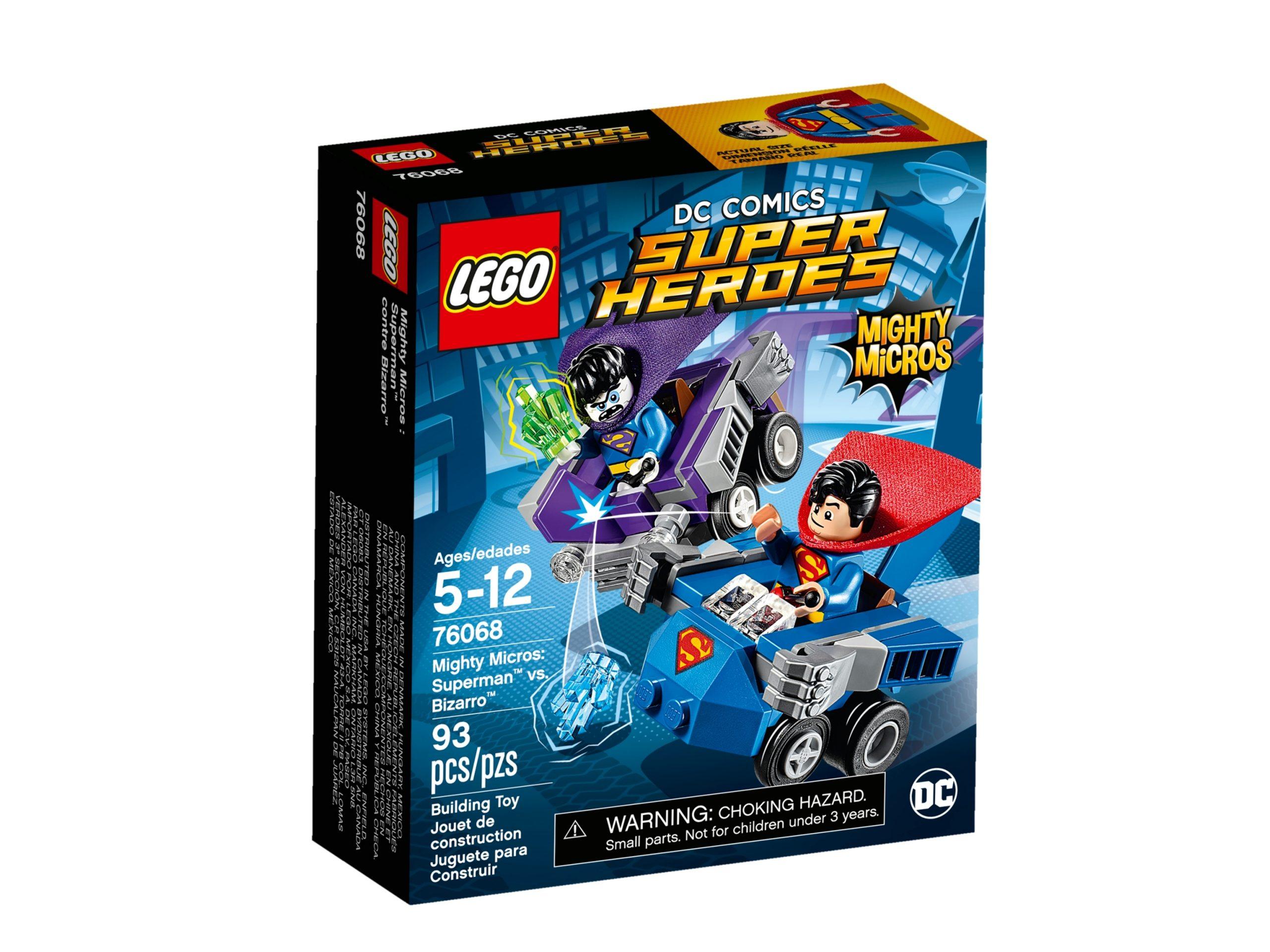 lego 76068 mighty micros superman vs bizarro scaled