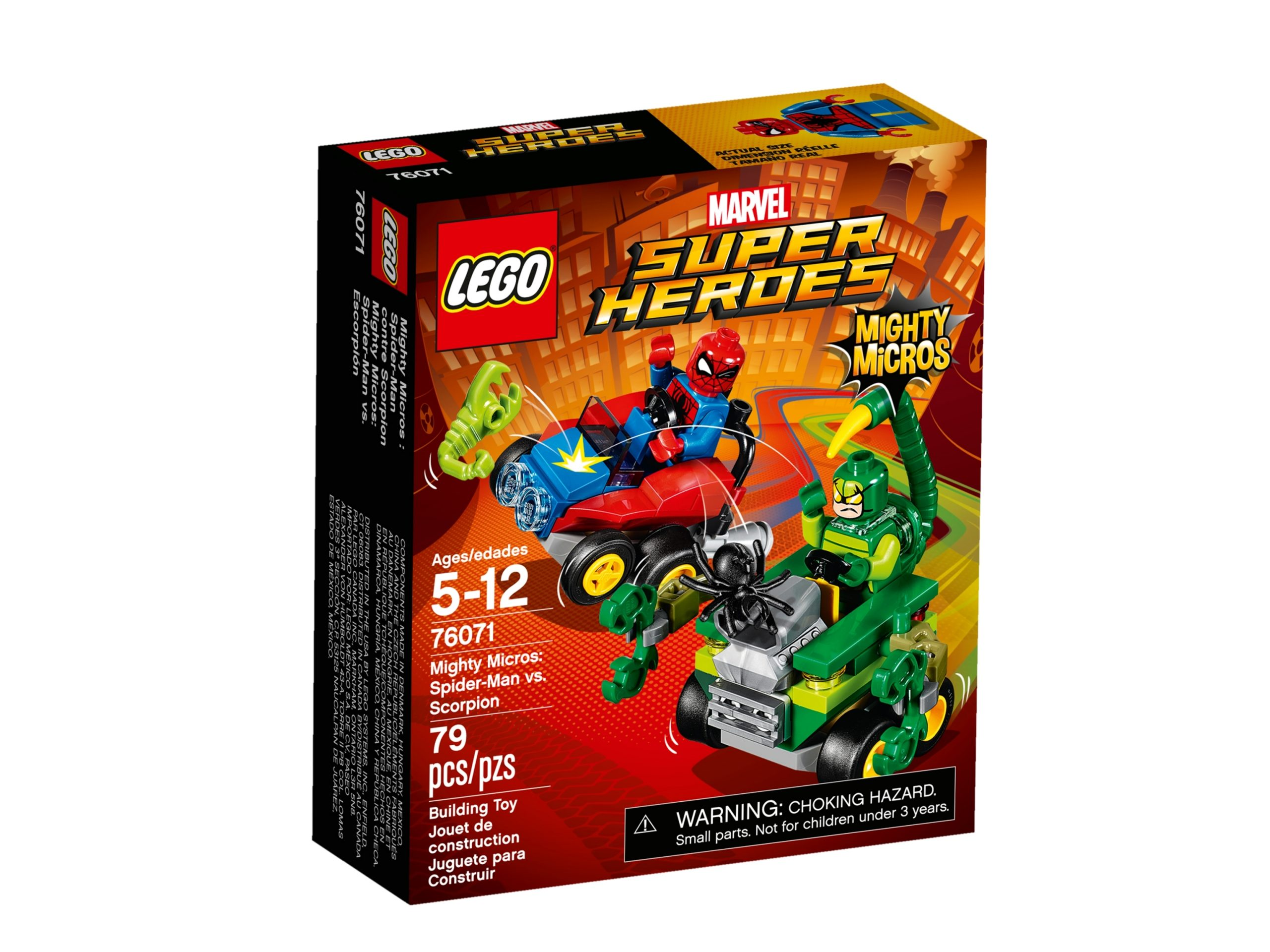 lego 76071 mighty micros spider man vs scorpion scaled
