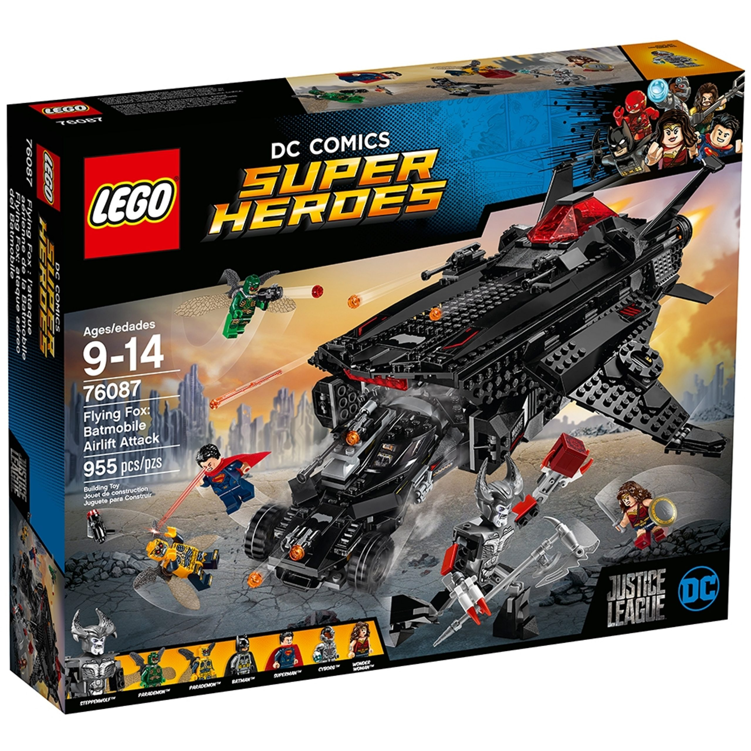 lego 76087 flying fox batmobil attacke aus der luft scaled