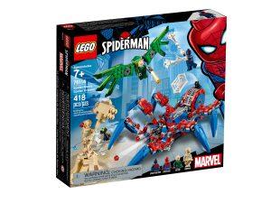 lego 76114 spider mans spinnenkrabbler