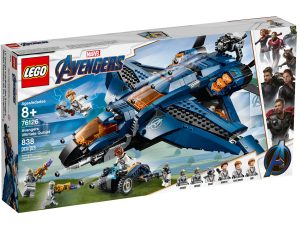 lego 76126 ultimativer avengers quinjet