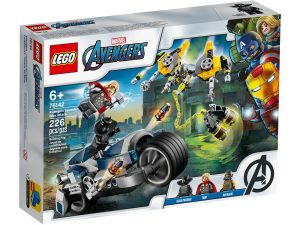 lego 76142 avengers speeder bike attacke