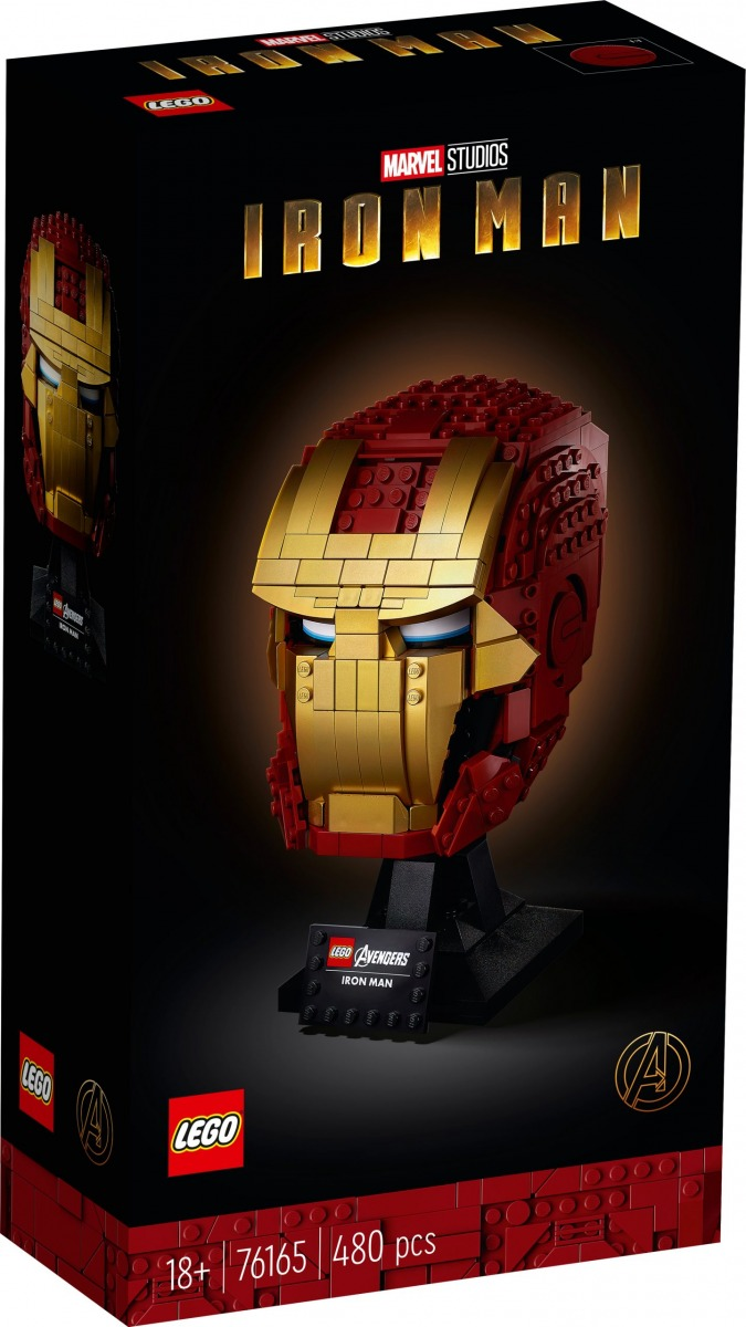 lego 76165 iron mans helm scaled