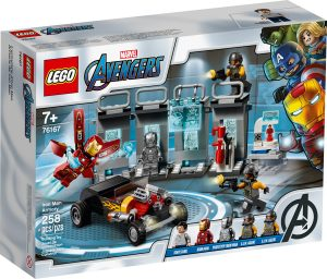 lego 76167 iron mans arsenal