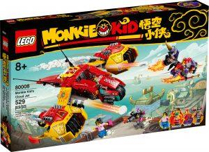 lego 80008 monkie kids wolken jet