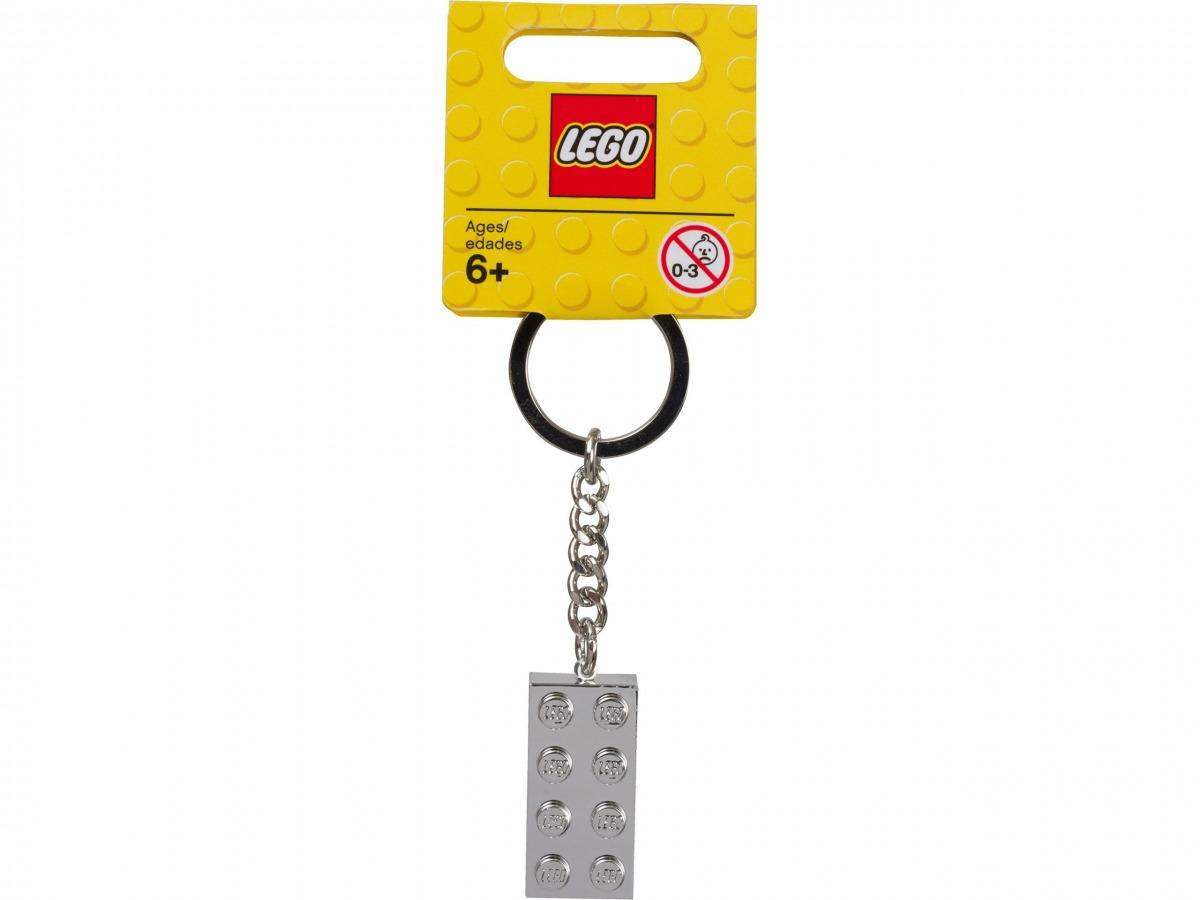 lego 851406 schlusselanhanger mit metallbeschichtetem 2 x 4 stein scaled