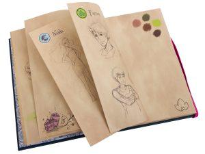 lego 853565 elves emily jones skizzentagebuch