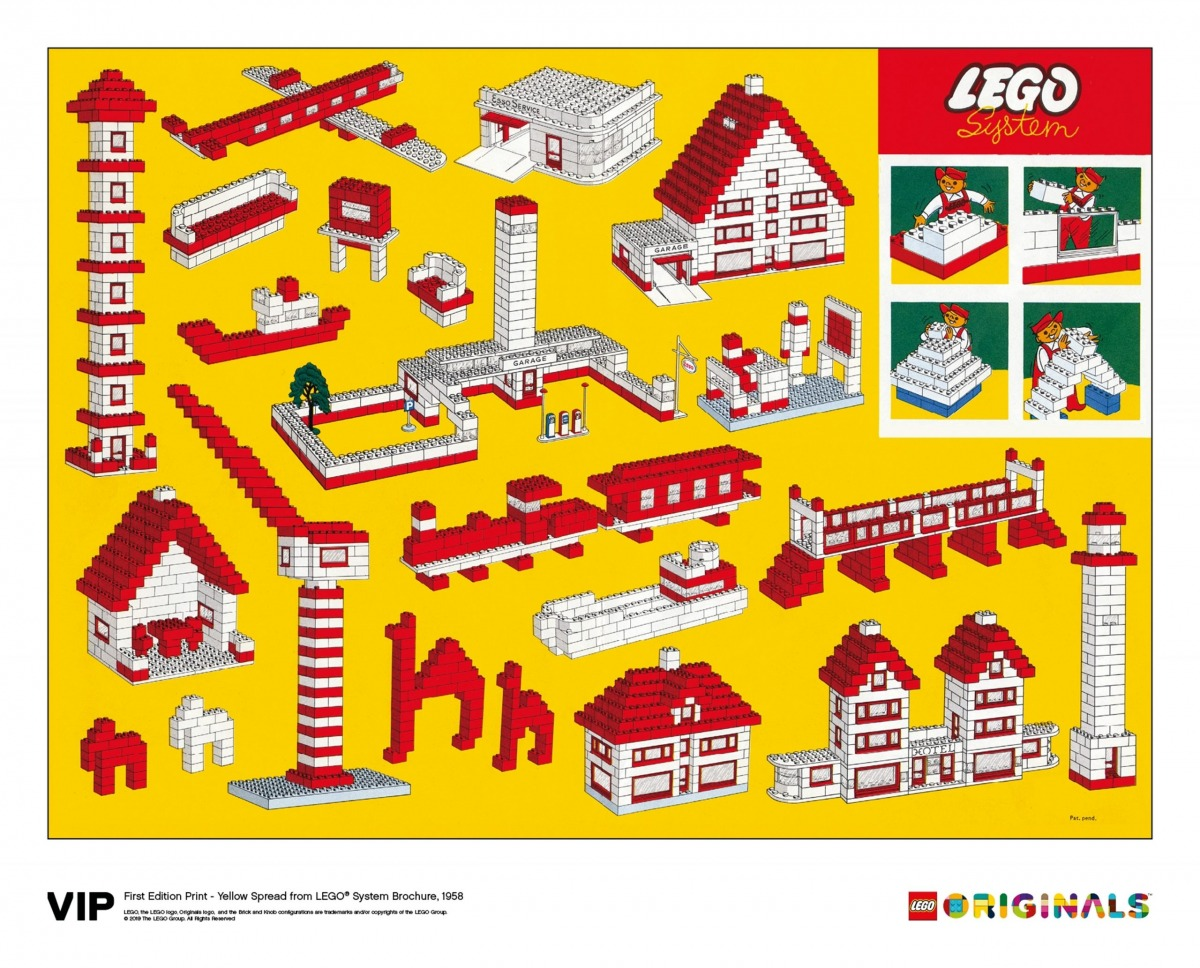 yellow spread lego 5006005 system brochure 1958 scaled