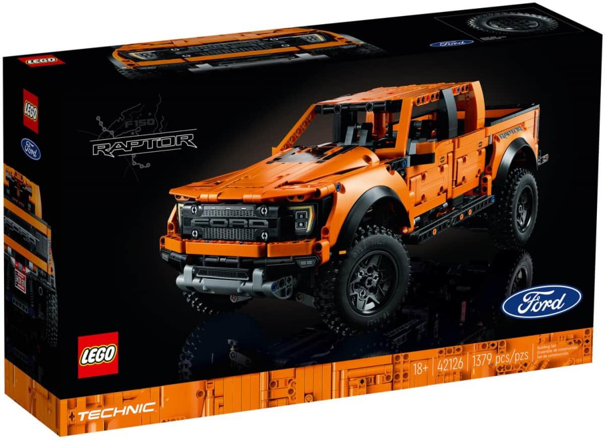 LEGO 42126 Ford Raptor F-150 - 20210630