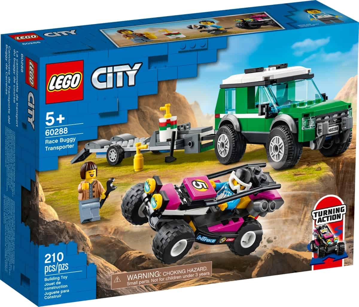 lego 60288 rennbuggy transporter