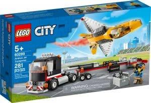 lego 60289 flugshow jet transporter