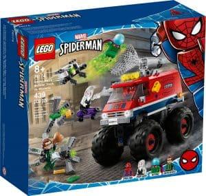 lego 76174 spider mans monstertruck vs mysterio