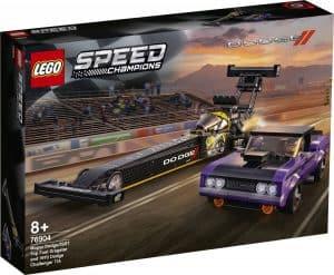 LEGO 76904 Mopar Dodge//SRT Top Fuel Dragster and 1970 Dodge Challenger T/A - 20210502