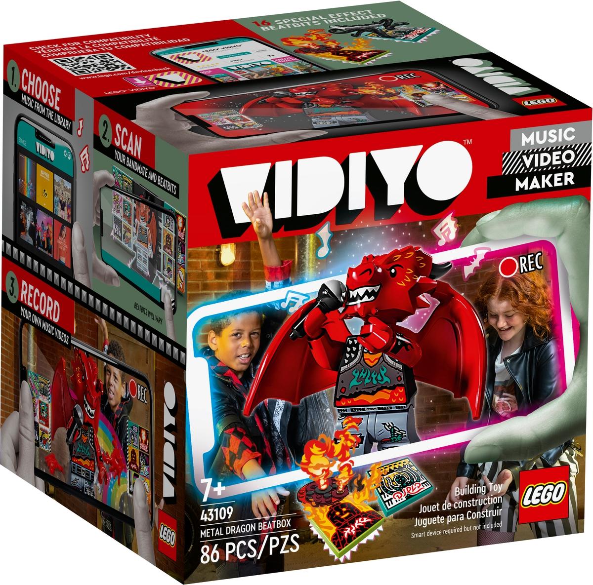 lego 43109 metal dragon